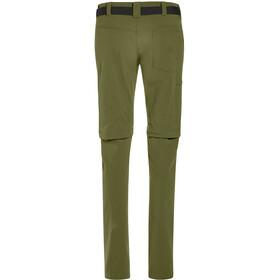 Maier Sports Inara Slim Pantalon convertible avec fermeture éclair Femme, winter moss